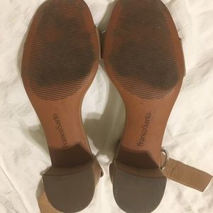 add13d242de3 Franco Sarto Shoes - Franco Sarto Ronnie Sandal Beige Leather Size 7